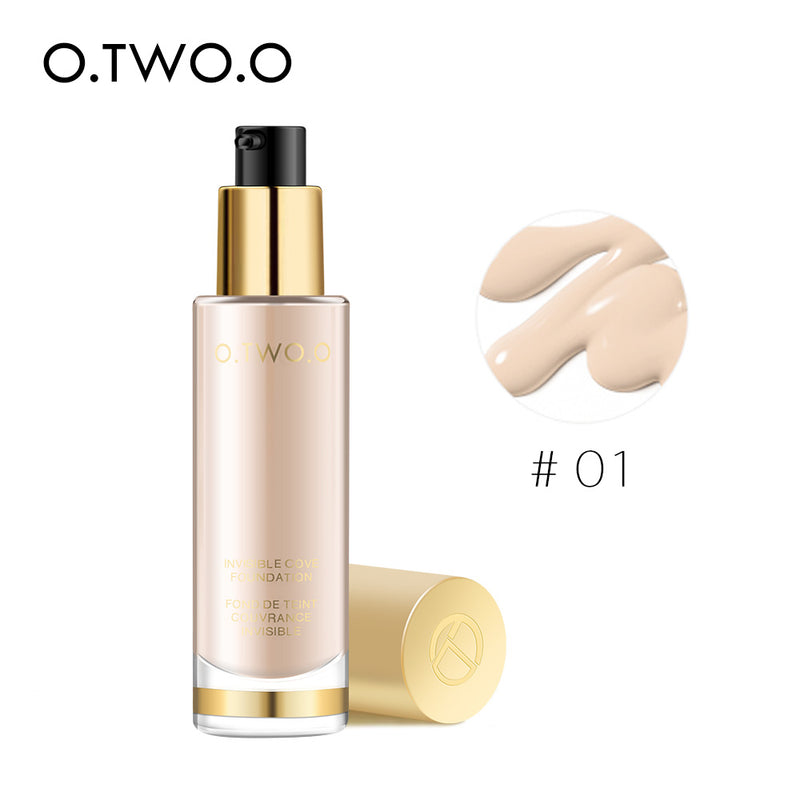 O.TWO.O  Full Coverage Liquid Foundation - O.TWO.O Makeup Official Site