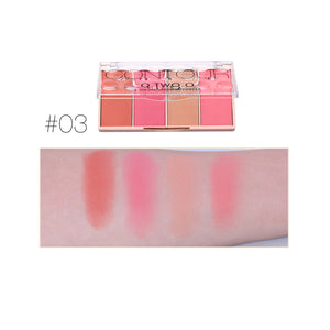 O.TWO.O Face Makeup Base Contour+Blush Palette - O.TWO.O Makeup Official Site