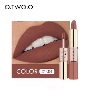 O.TWO.O 12 Colors Velvet Matte Liquid Lipstick - O.TWO.O Makeup Official Site