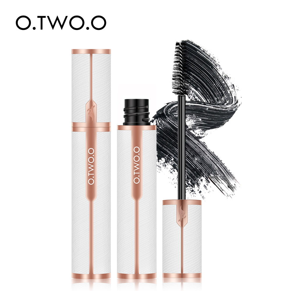 O.TWO.O Eyes Mascara Waterproof Volume Long Lasting Luxury Design Black Eyelashes Extention Dry Fast Makeup