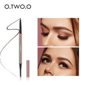O.TWO.O Ultra Fine Triangle Eyebrow Pencil Precise Brow Definer Long Lasting Waterproof Blonde Brown Eye Brow Makeup 6 Colors