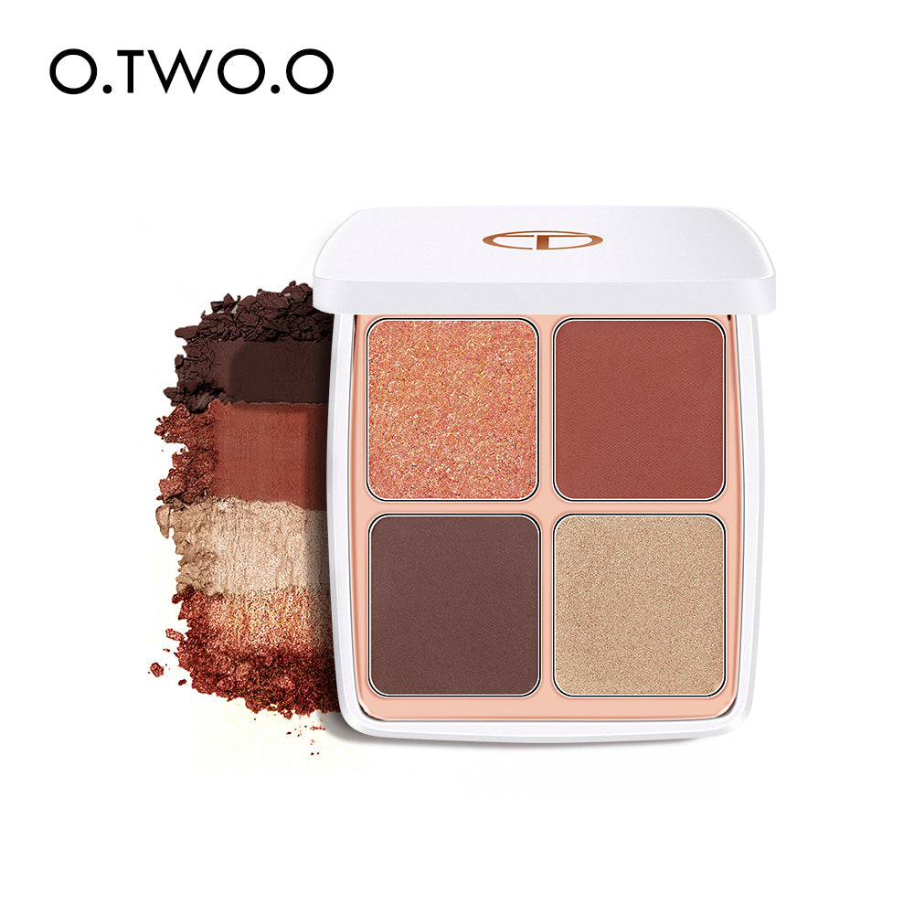 O.TWO.O Colored Drawing Morocco Eyeshadow Palette