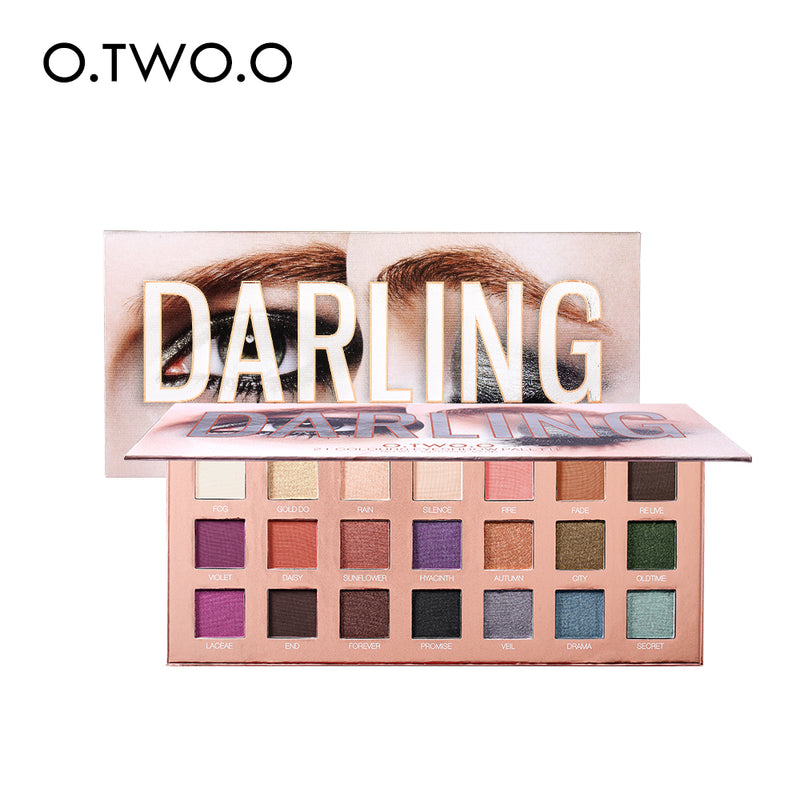 O.TWO.O EYESHADOW PALETTE 21 COLORS Darling