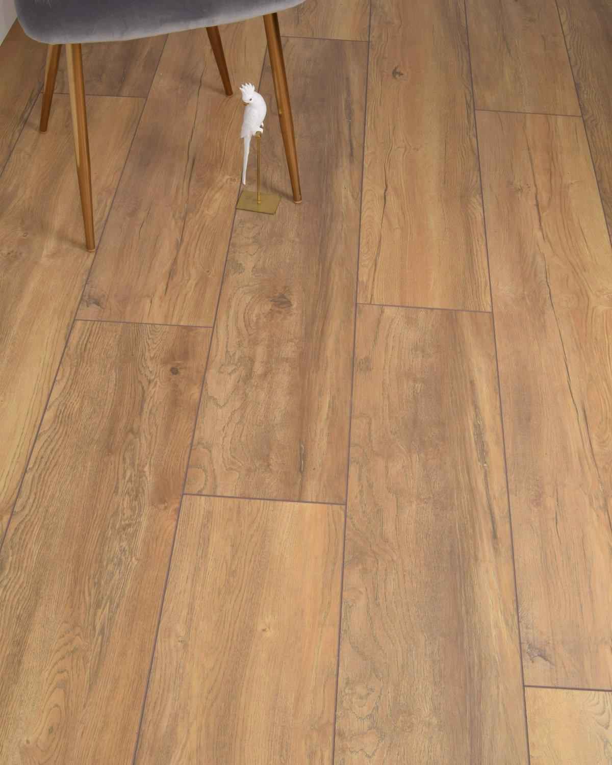 Underfoot Banksy Honeycomb Oak Sample