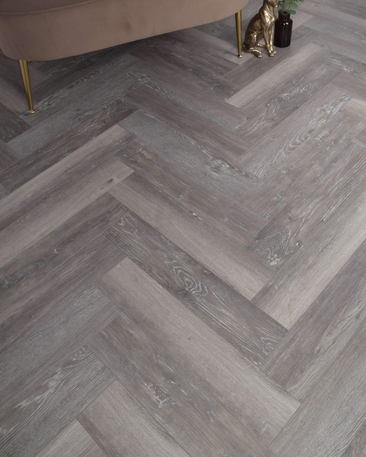 Underfoot Zambezi Herringbone Beachwood Oak