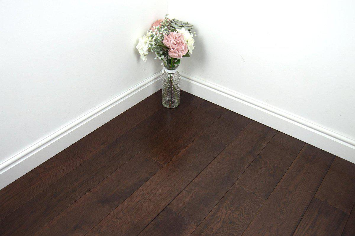 Underfoot YellowStone Walnut Stained Lacquered Sample
