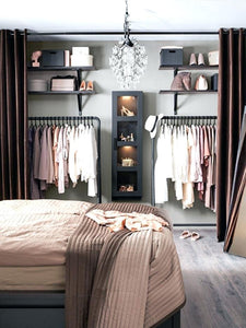 If you have a closet with less space than you need then you probably wish you could get double your closet space to let you fit everything in