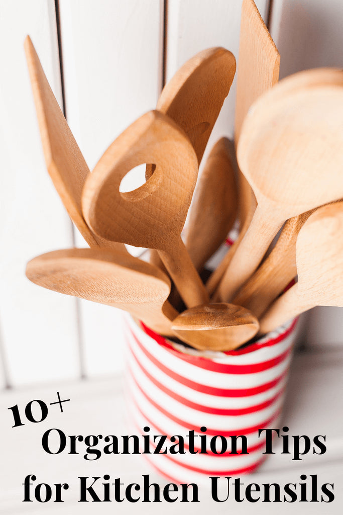 No need to struggle to keep your kitchen utensils organized thanks to these  organization tips for kitchen utensils