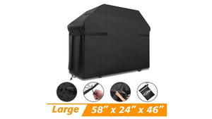 Replace that dingy old BBQ grill cover and make it fresh for a new year of backyard cooking, just $12 today!