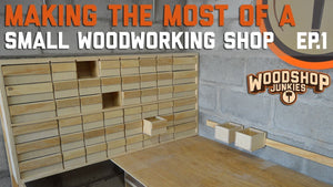 Screw And Parts Organizer And Storage DIY - Making The Most Of A Small Woodworking Shop Ep.1 de Woodshop Junkies hace 1 año 14 minutos 342,772 vista