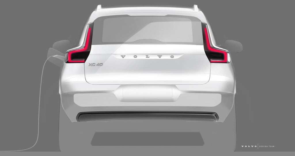 The first details about Volvo's upcoming electric XC40 SUV