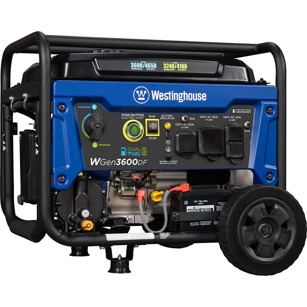 If you're looking for a generator for your home or for use on the go for an RV or worksite, consider a generator that runs on propane