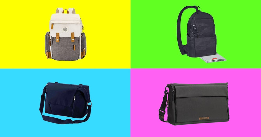 If there's one clutch piece of baby gear every dad needs, it's the men's diaper bag
