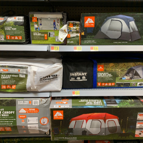 Don't Miss Ozark Trail Tents on Sale! Starting at $39.97!