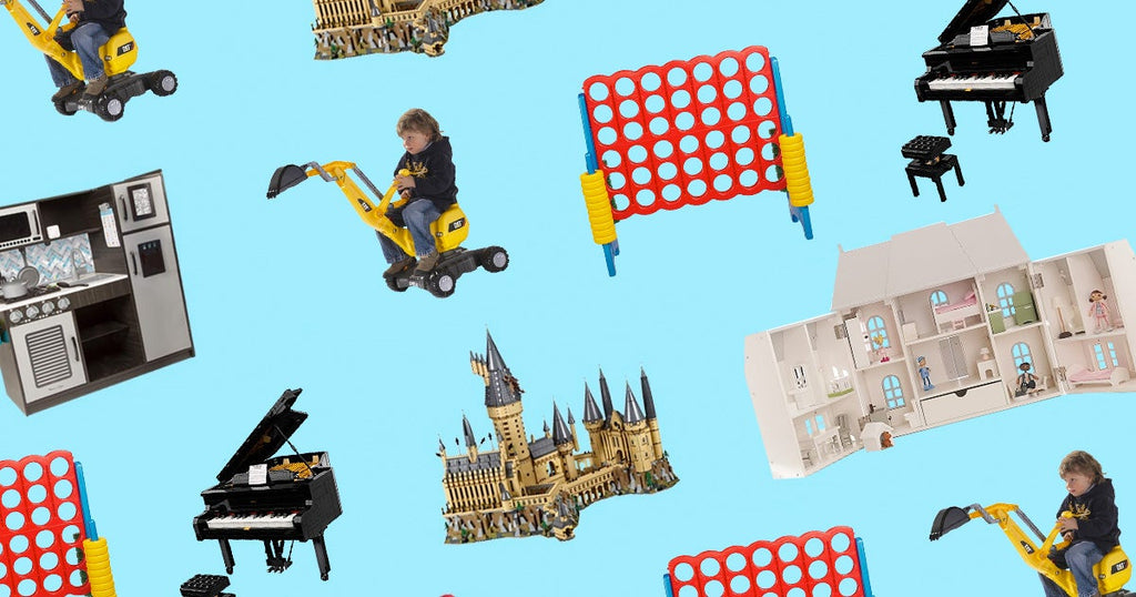 giftbikesdollhousesbig gifttoys that kids can ridebig gifts for kids that they'll remember.