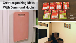 Great Organizing Ideas With Command Hooks | 3M Command Hooks Hacks & Uses Hello Friends, This video is about different uses and hacks of 3M command ...