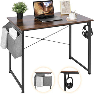 "Keeypon 39"" Writing Desk w/ Storage Bag for $27 + free shipping"