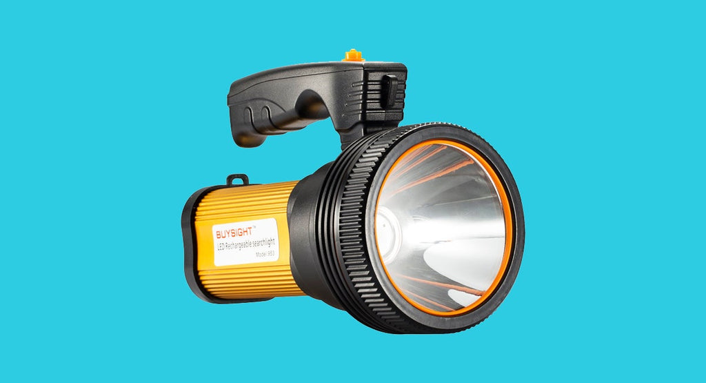 The light on your phone works in a pinch, but a sturdy, reliable flashlight is a must for every home
