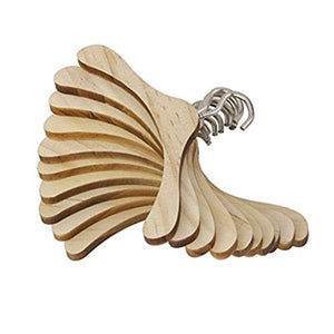 15 Best and Coolest Wooden Clothes Hangers