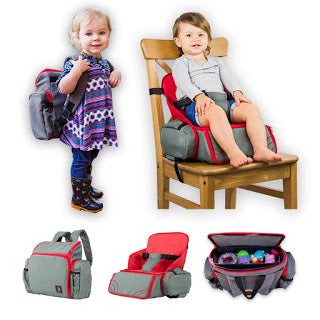 3-in-1 Cozy Travel Booster Seat/Backpack/Diaper Bag for Only $22.50 Shipped (Was $44.99)!!!