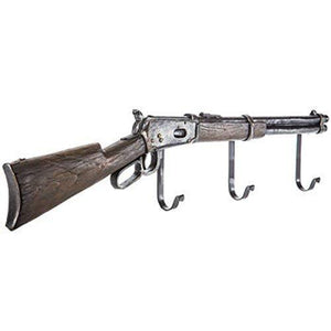 Rifle Wall Decor with Hooks Coat Hanger Rustic Western Country Decor Rustic Kitchen Hallway Storage Hook Towel Coat Hallway Jacket Hat Scarf Hook