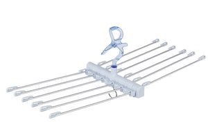 * Polish Brilliant Towel Hanger Pl-06 Sax Blue