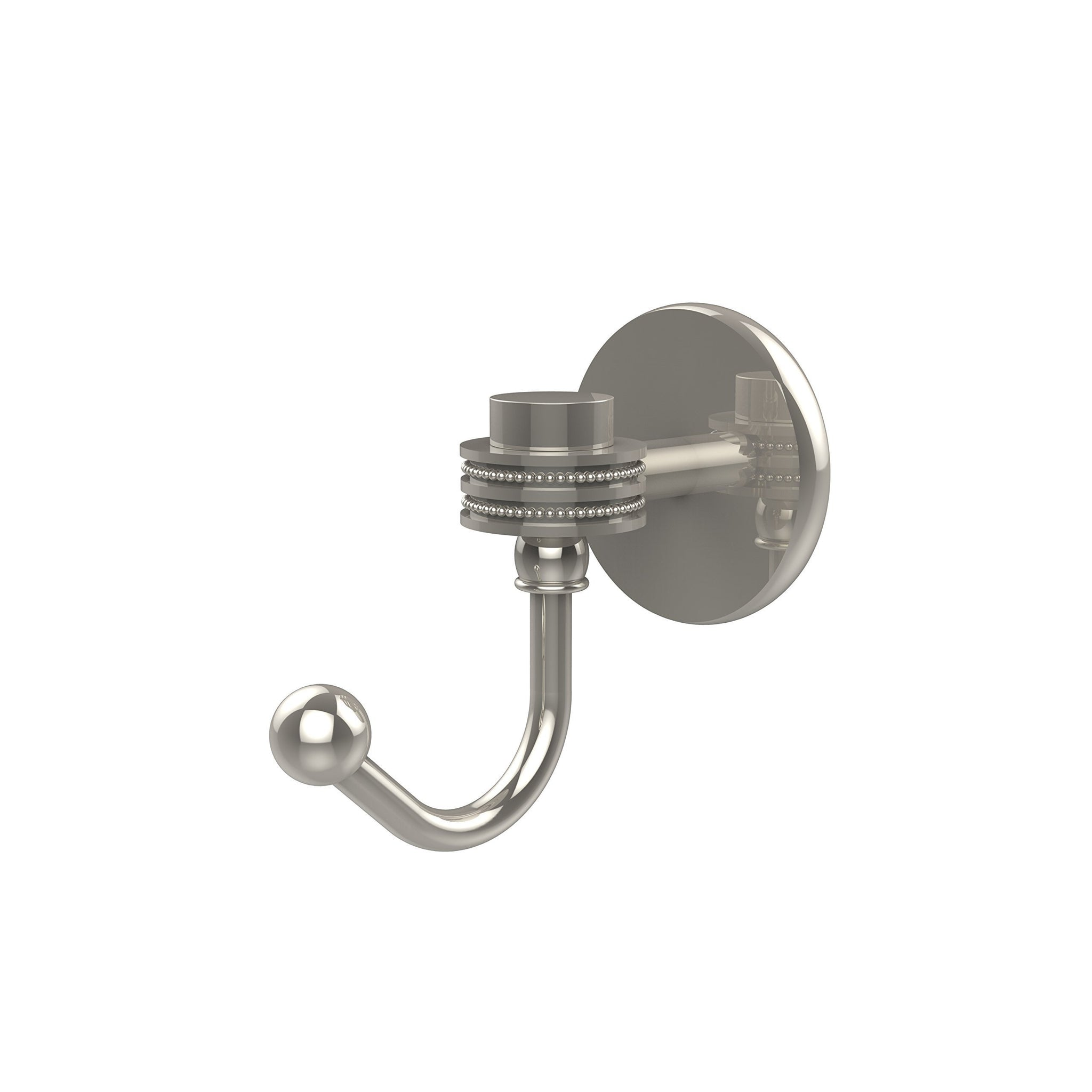 Allied Brass 7120D-PNI Satellite Orbit One Collection Utility Hook, Polished Nickel