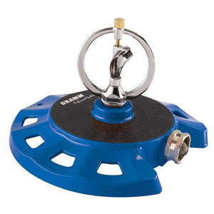 DRAMM | ColourStorm Spinning Monarch Garden Sprinkler - Blue