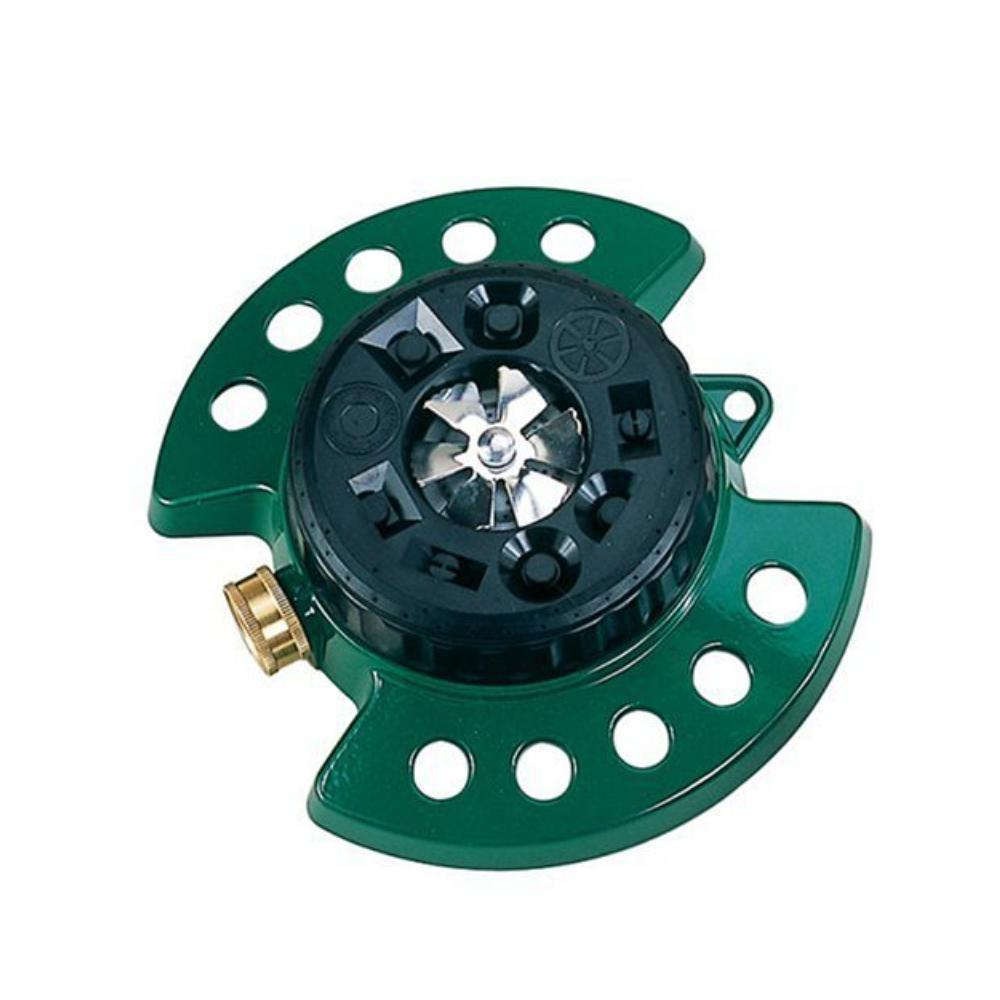 DRAMM | ColourStorm Turret Garden Sprinkler - Green