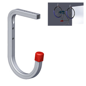 Wall & Ceiling Mounted 50kg Bike Storage Hook Bracket Ladders