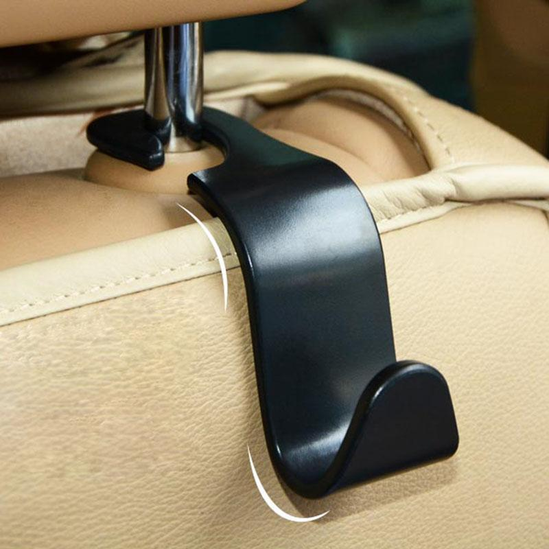 4 X Creative Car Seat Back Hooks Hangers Organizer Universal Headrest Mount Storage Hooks House