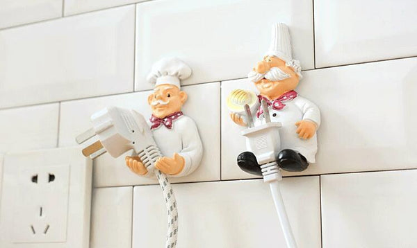 Chef Self-Adhesive Wall Storage Hook Hanger