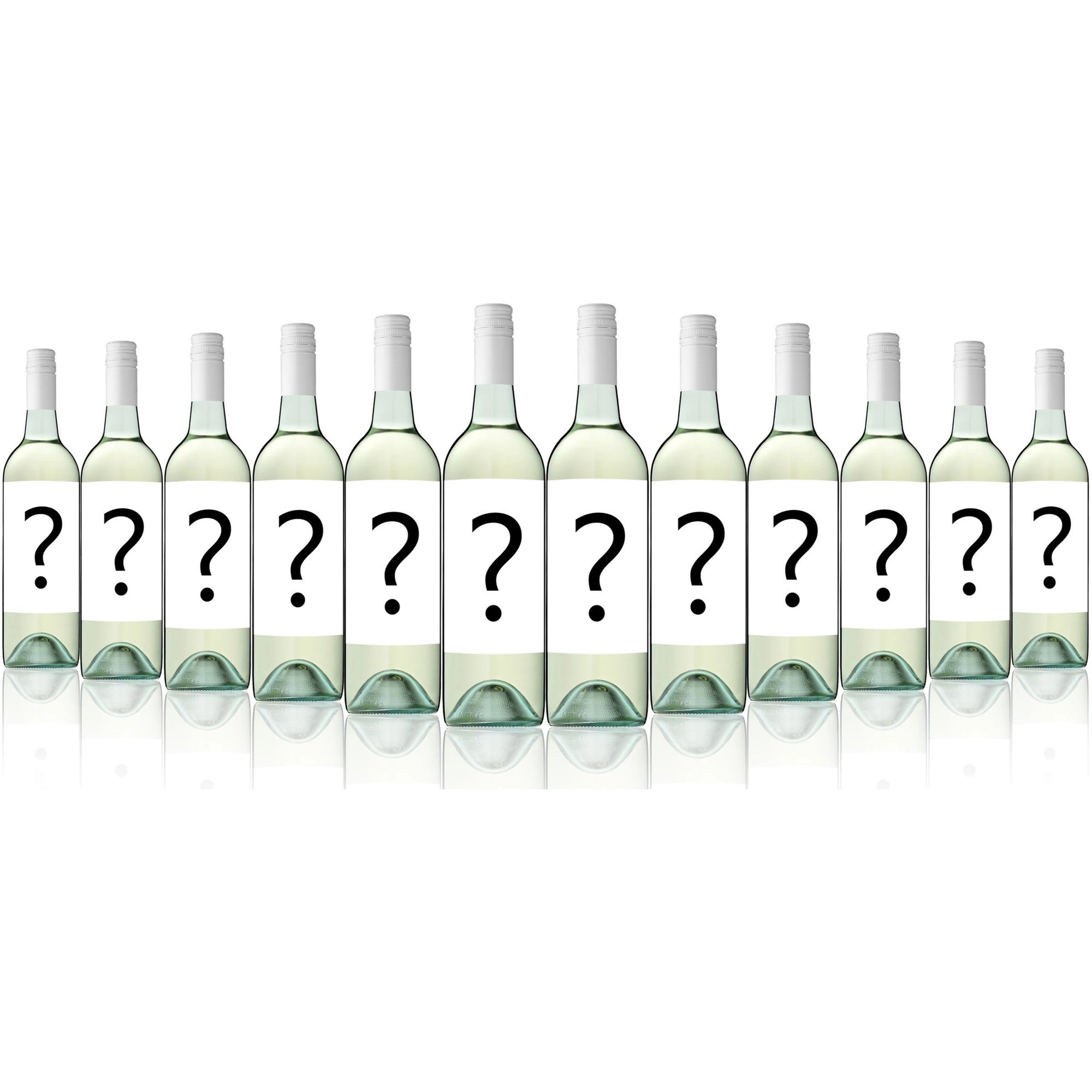 Mystery Big Brand Export Label Crisp Dry White 2017 (12 Bottles)