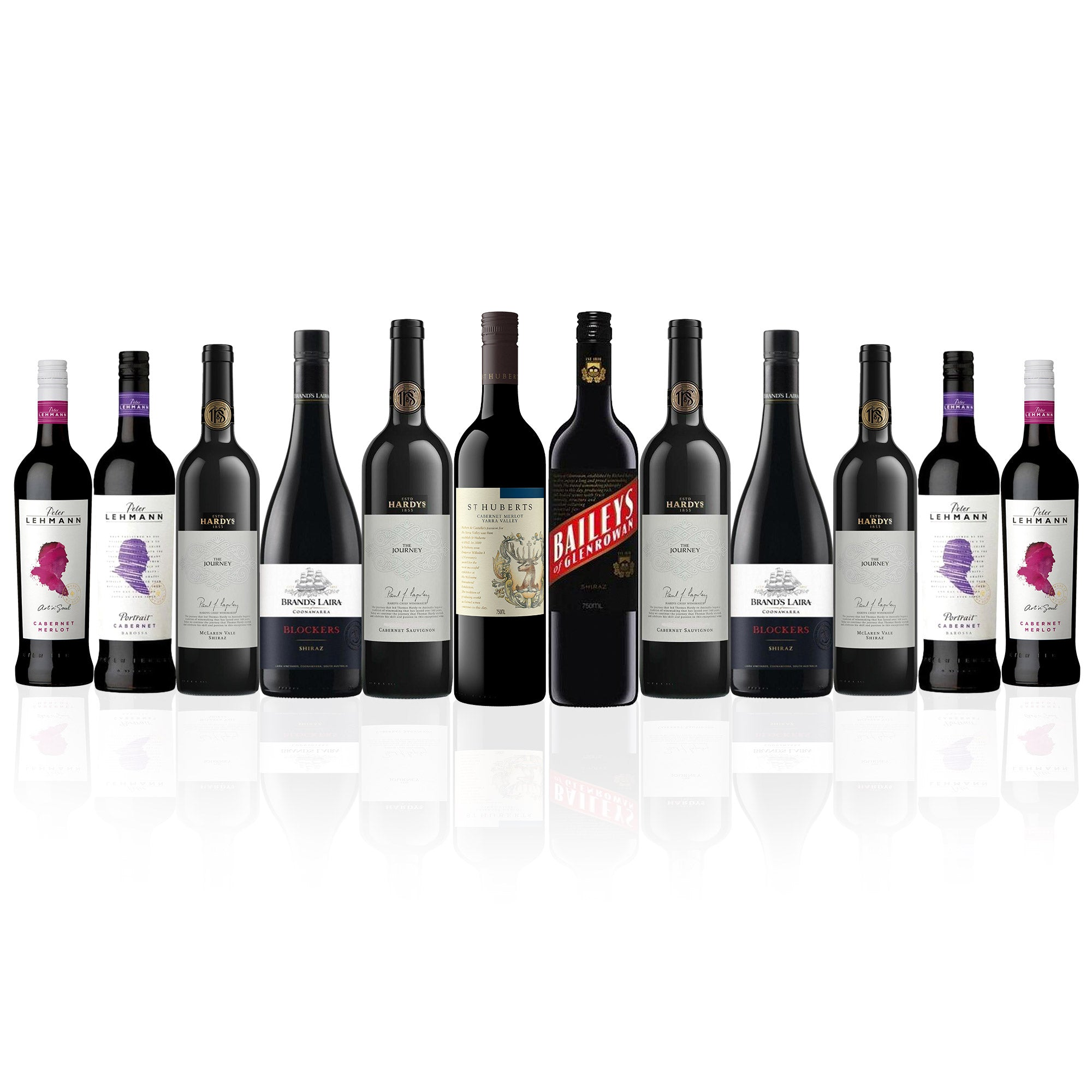 Big Brand Red Wine Box 3.0 (12 Bottles)