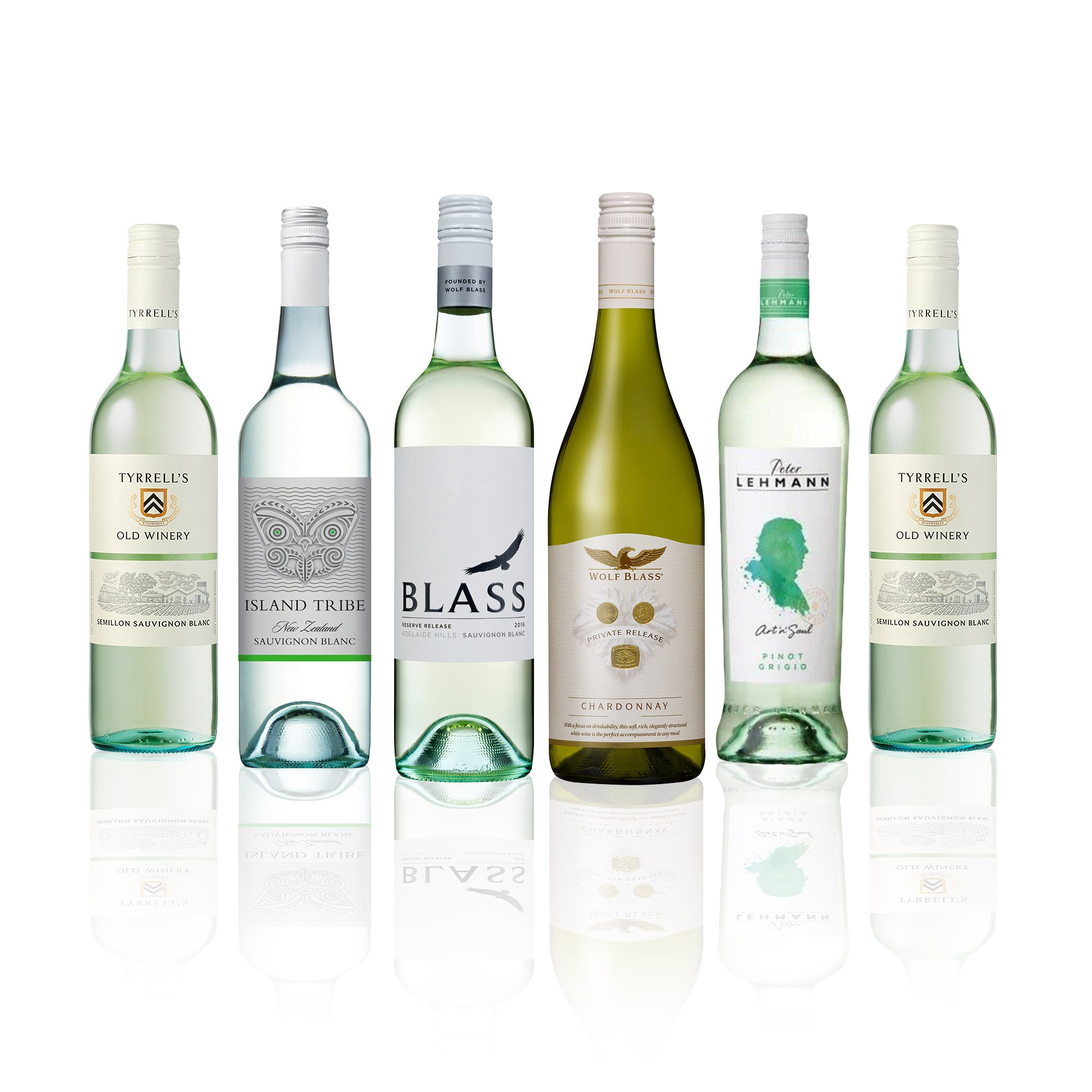Big Brand Mixed White Wine Box (6 Bottles)
