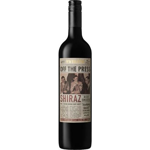 McWilliams Off The Press Shiraz 2019 (12 Bottles)