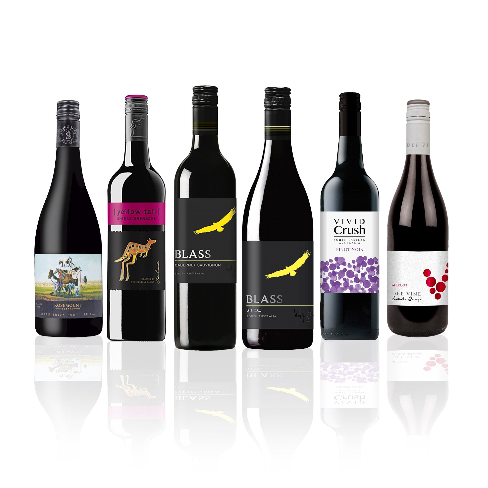 Premium Mixed Aussie Red Wine Case (6 Bottles)