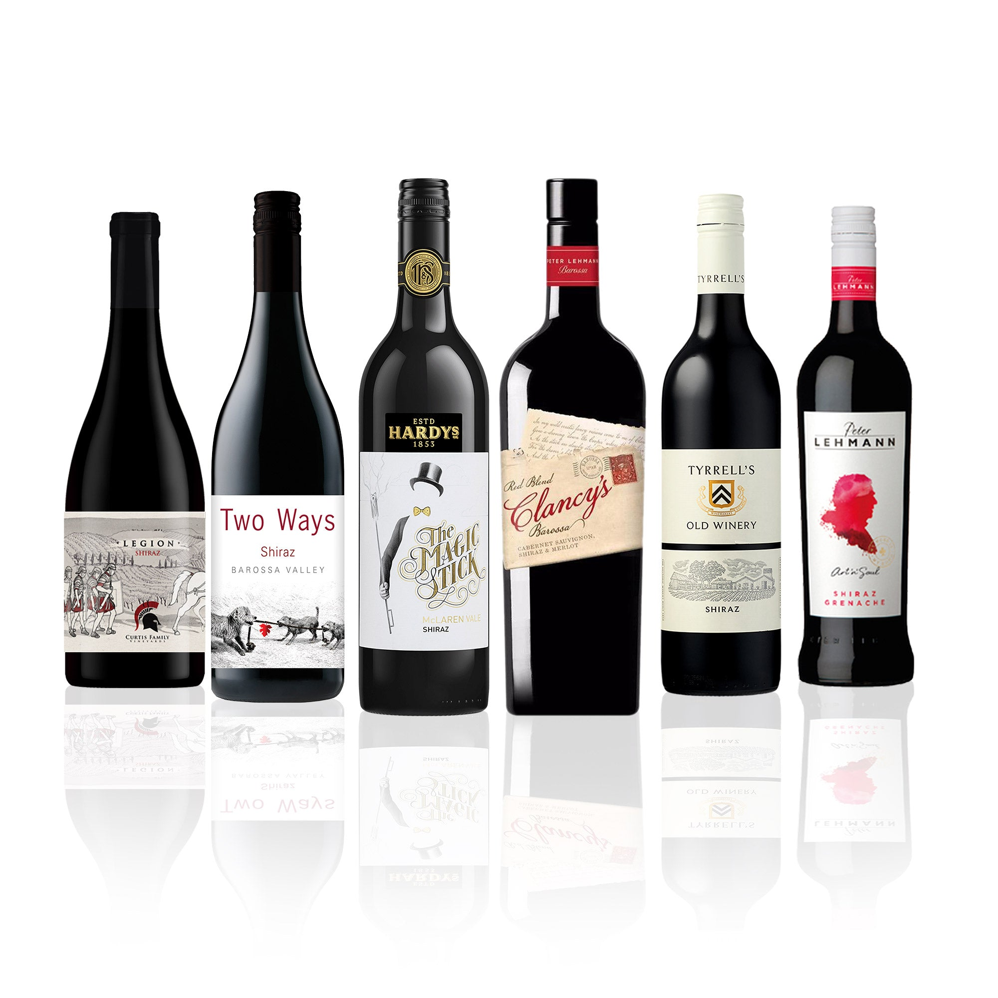 Shiraz & Friends Mixed Red Wine Case (6 Bottles)
