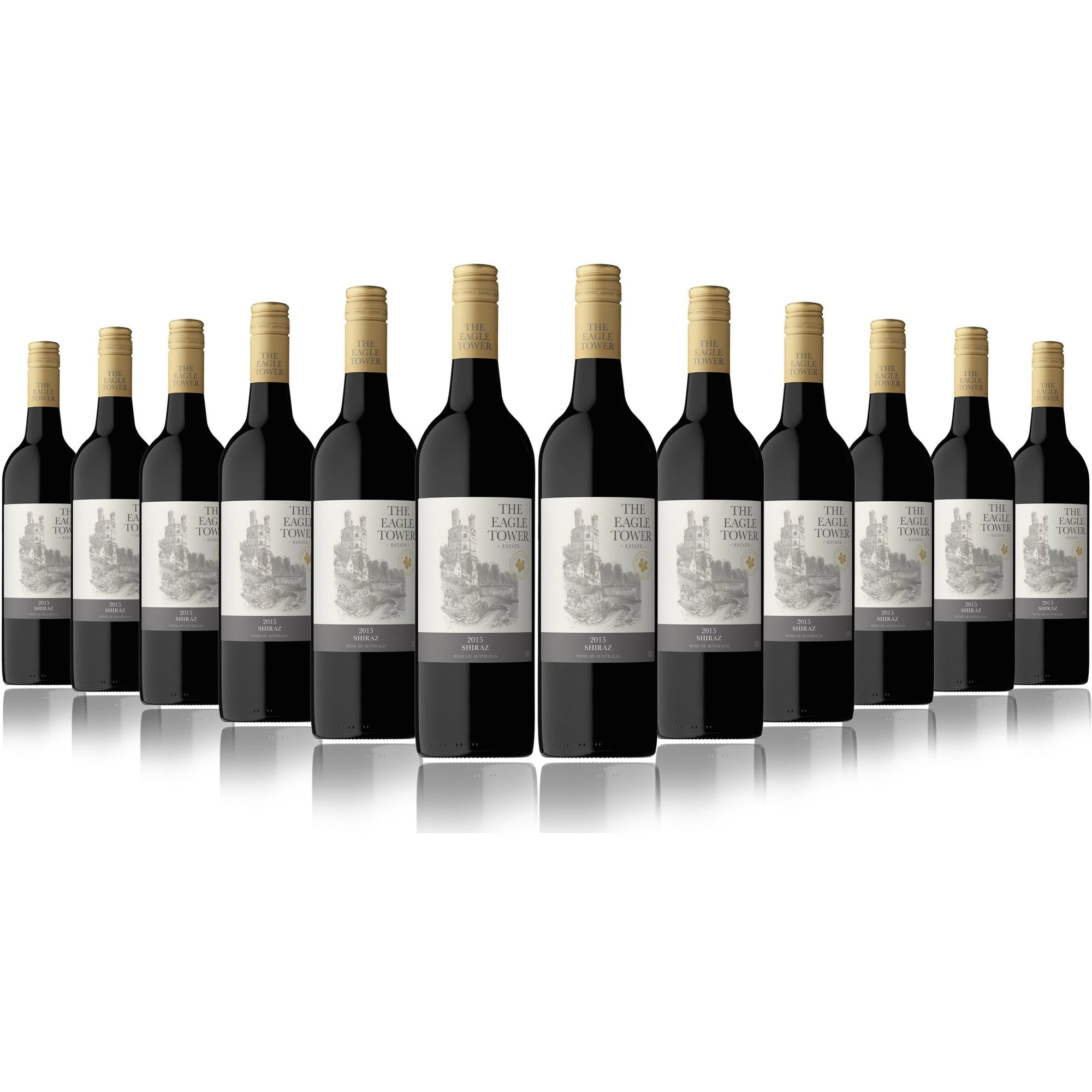 Eagle Tower Shiraz NV (12 Bottles)