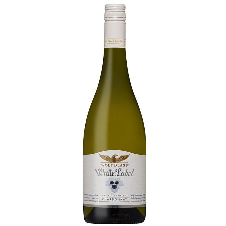 Wolf Blass White Label Piccadilly Valley Chardonnay 2017 (6 bottles)