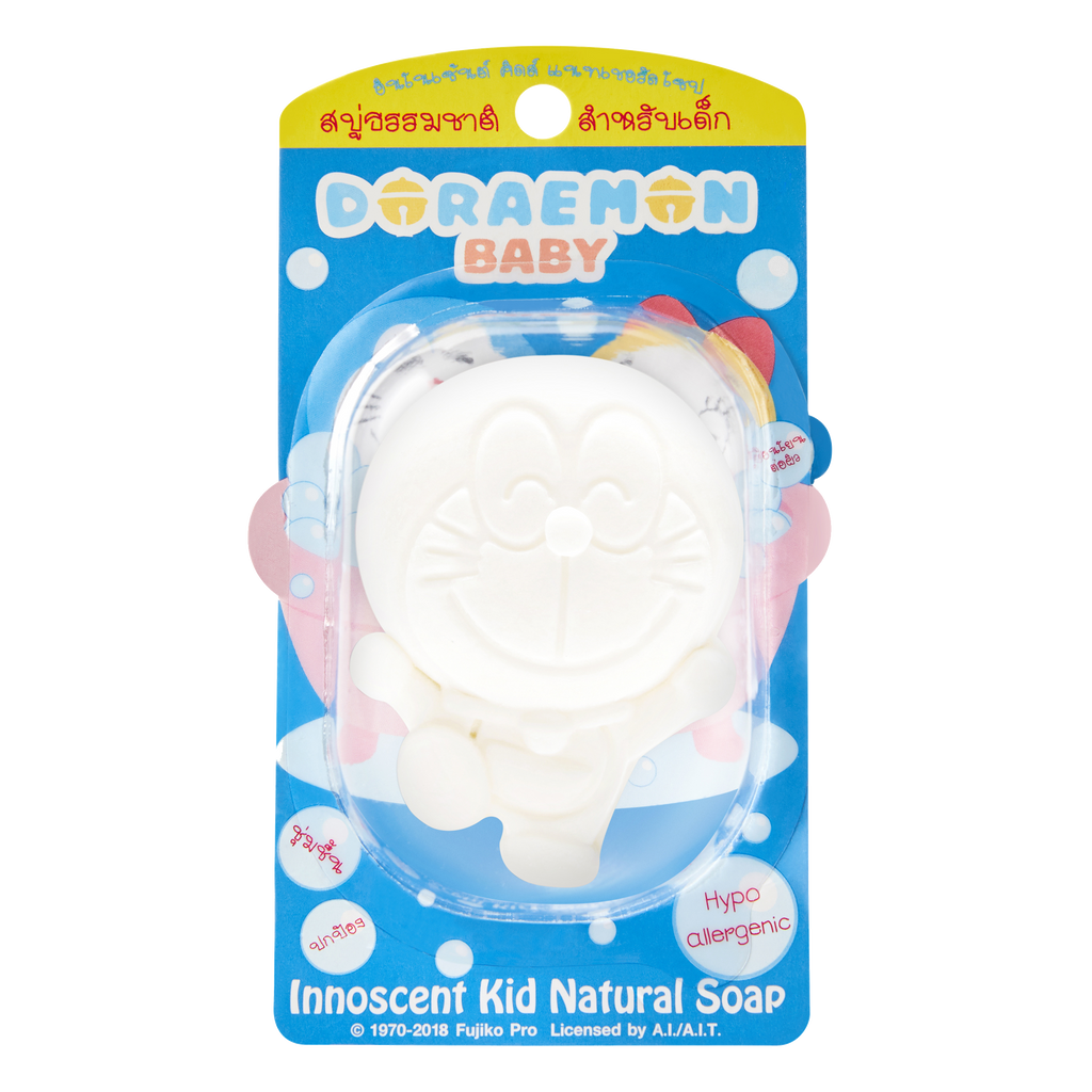 Doraemon Organic Coconut Soap for Boys