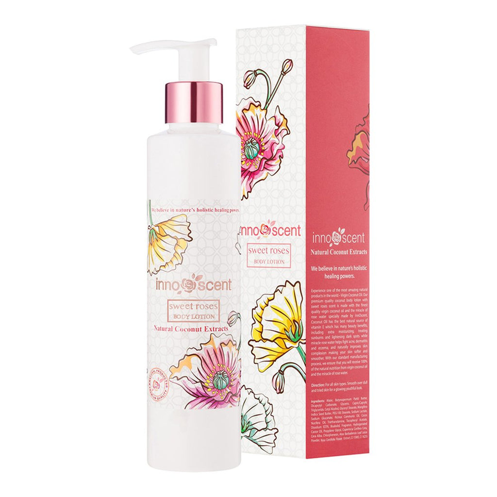 Organic Sweet Roses Body Lotion