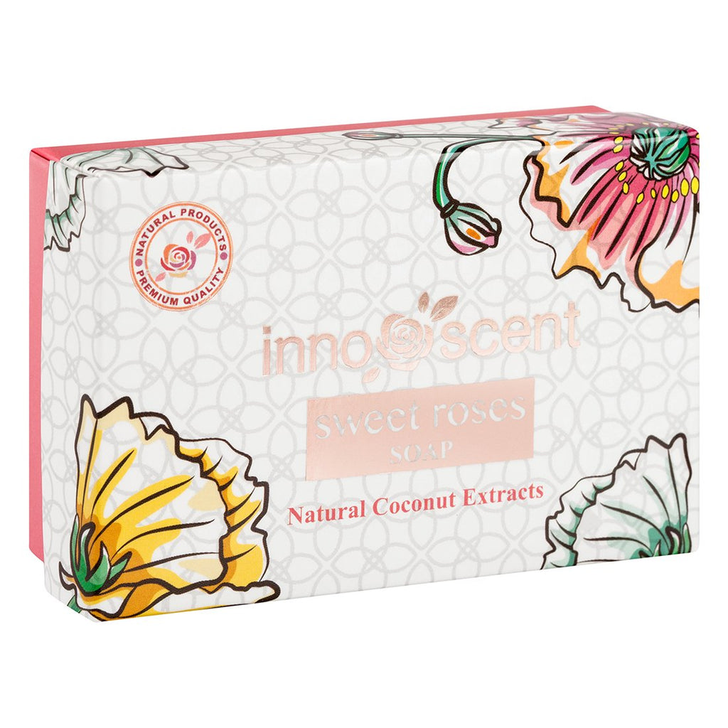 Organic Sweet Roses Soap in package
