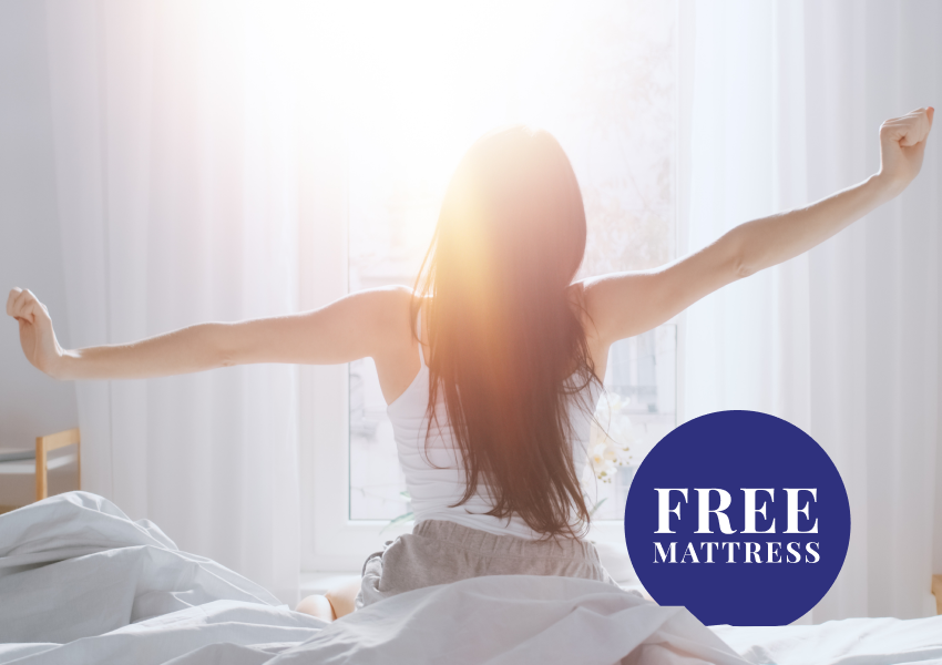 FREE POCKET SPRING MATTRESS WITH SELECTED BED FRAMES