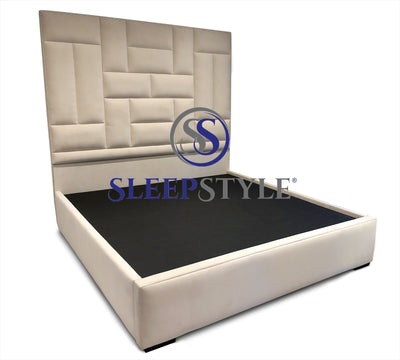 Belgravia Low Footend Upholstered Bed Frame
