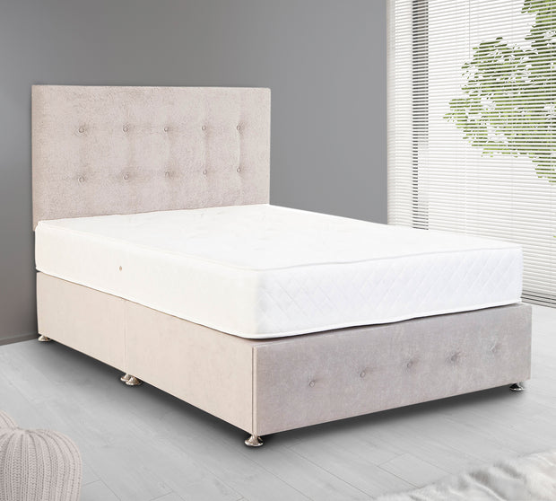Button Divan Bed