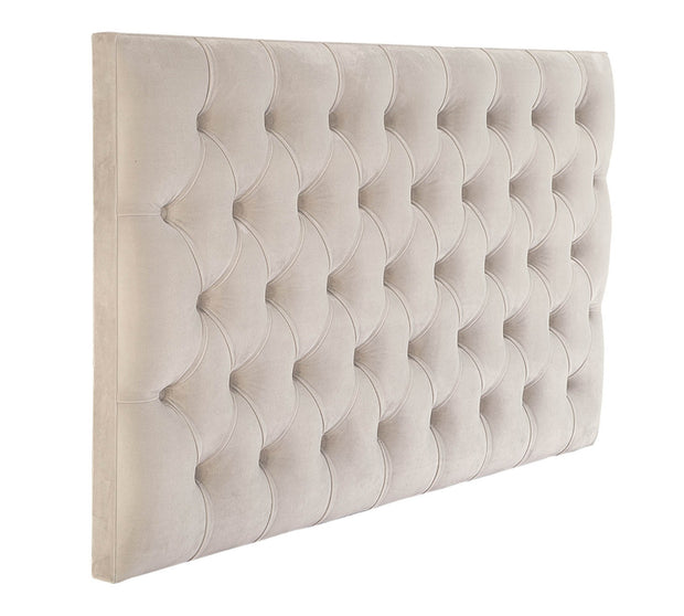 Classic Chesterfield Upholstered Headboard