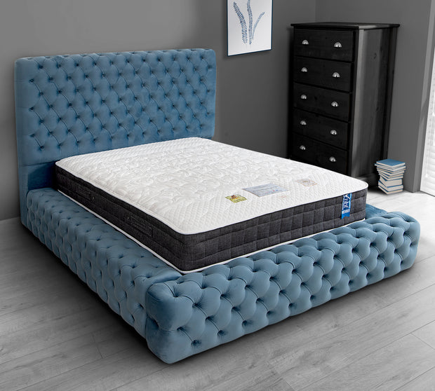 Maximus Chesterfield Upholstered Bed Frame