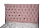Celine Chesterfield Upholstered Bed Frame