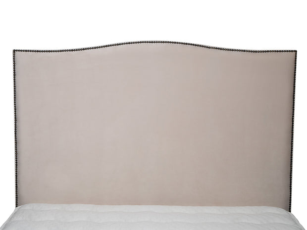 Tamsen Curved Upholstered Bed Frame